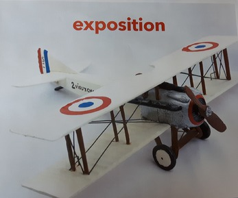 EXPOSITION DE LA COLLECTION D'AVION DE MICHEL MANDRON